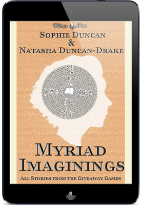 Myriad Imaginings: Anthology of All The Stories From The Wittegen Press Giveaway Games
