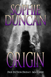 book cover, Origin by Sophie Duncan